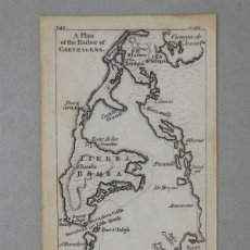 Arte: MAPA DE CARTAGENA DE INDIAS (COLOMBIA, AMÉRICA DEL SUR)), CIRCA 1720. THOMAS JEFFERYS. Lote 109356239