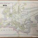 Arte: GEOGRAFÍA LITERARIO - MÉDICA. 29 X 39,5 CM. AÑO 1857. LIT. BACHILLER. VENERAS Nº 7.. Lote 110354759