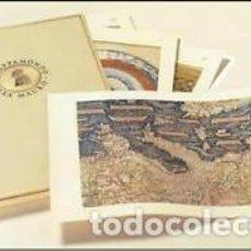 Arte: 1450/2002 MAPA DE FRA MAURO - FACSIMIL A TAMAÑO REAL (2,4X2,4 METROS) EN 48 HOJAS PARA MONTAR. Lote 111095647