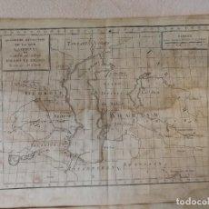 Arte: CARTA FRANCESA DEL MAR CASPIO Y EL LAGO ARAL. JEAN-BAPTISTE-CLAUDE DELISLE DE SALES (1770). RARO.. Lote 113168467