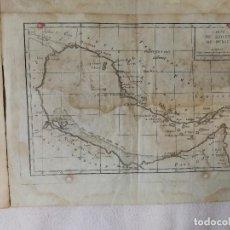 Arte: CARTA ORIGINAL FRANCESA DEL GOLFO PÉRSICO. JEAN-BAPTISTE-CLAUDE DELISLE DE SALES (1770). RARO. Lote 206924826