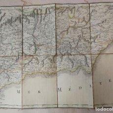 Arte: CARTOGRAFÍA SURESTE PENÍNSULA IBÉRICA,ANDALUCÍA,CÓRDOBA,GRANADA,ESPAÑA.MAPA GRABADO.PARÍS,SIGLO XVII. Lote 113571899