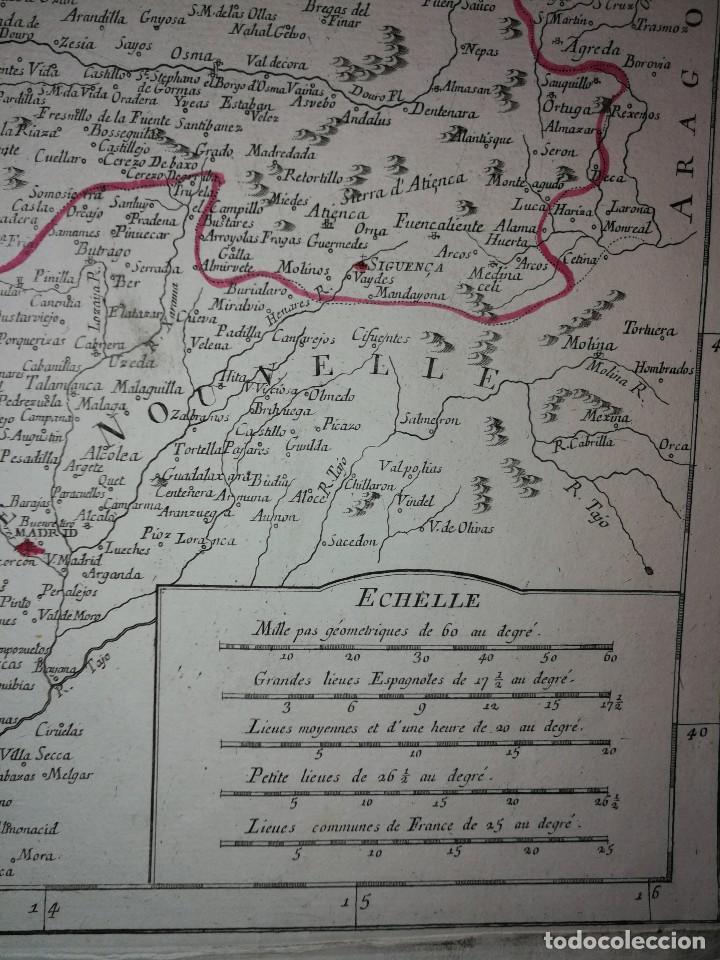 Arte: MAPA NOROESTE DE LA PENÍNSULA IBÉRICA,ESPAÑA PORTUGAL.ROBERT VAUGONDY/SANTINI/REMONDINI(1776)VENECIA - Foto 3 - 114790891