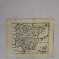 Arte: MAPA PENÍNSULA IBÉRICA.S. XVIII.A NEW MAP OF SPAIN(ESPAÑA) AND PORTUGAL FROM THE LATEST OBSERVATIONS. Lote 115799703