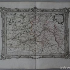Arte: GRAN MAPA DE ORLEANS, TOURAINE Y MAINE (FRANCIA, EUROPA), 1766. DESNOS. Lote 118034463