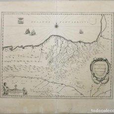 Arte: GRAN MAPA DE VIZCAYA, GUIPÚZCOA, ÁLAVA Y CANTABRIA ( NORTE DE ESPAÑA), 1640. BLAEU. Lote 118034699