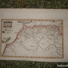 Arte: ANTIGUO MAPA DE ISLAS CANARIAS Y MADEIRA Y DEL NORTE DE ÁFRICA, 1680. CLUVER. Lote 119513999