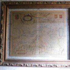 Arte: MAPA DE CASTILLA Y ALREDEDOR. ORIGINAL, JOHANNES JANSSONIUS, 1638 [ S.17 ] SIN EL MARCO. Lote 119922711