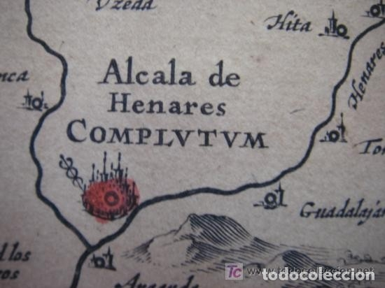 Arte: MAPA DE CASTILLA Y ALREDEDOR. ORIGINAL, JOHANNES JANSSONIUS, 1638 [ S.17 ] SIN EL MARCO - Foto 19 - 119922711