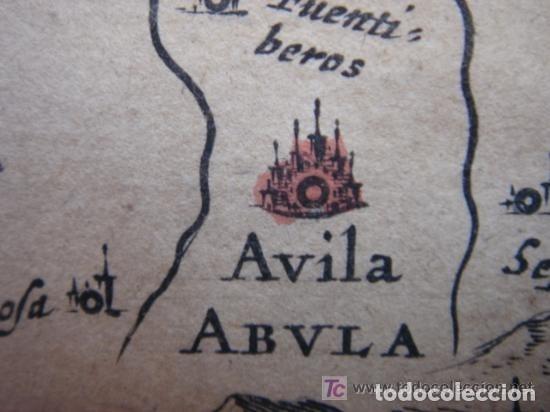 Arte: MAPA DE CASTILLA Y ALREDEDOR. ORIGINAL, JOHANNES JANSSONIUS, 1638 [ S.17 ] SIN EL MARCO - Foto 21 - 119922711