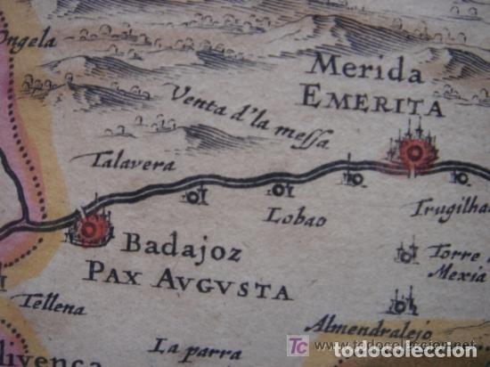 Arte: MAPA DE CASTILLA Y ALREDEDOR. ORIGINAL, JOHANNES JANSSONIUS, 1638 [ S.17 ] SIN EL MARCO - Foto 25 - 119922711