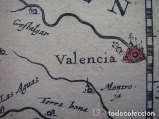 Arte: MAPA DE CASTILLA Y ALREDEDOR. ORIGINAL, JOHANNES JANSSONIUS, 1638 [ S.17 ] SIN EL MARCO - Foto 26 - 119922711