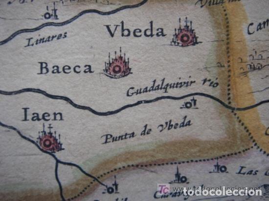 Arte: MAPA DE CASTILLA Y ALREDEDOR. ORIGINAL, JOHANNES JANSSONIUS, 1638 [ S.17 ] SIN EL MARCO - Foto 27 - 119922711