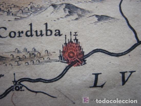 Arte: MAPA DE CASTILLA Y ALREDEDOR. ORIGINAL, JOHANNES JANSSONIUS, 1638 [ S.17 ] SIN EL MARCO - Foto 28 - 119922711