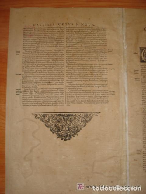 Arte: MAPA DE CASTILLA Y ALREDEDOR. ORIGINAL, JOHANNES JANSSONIUS, 1638 [ S.17 ] SIN EL MARCO - Foto 31 - 119922711