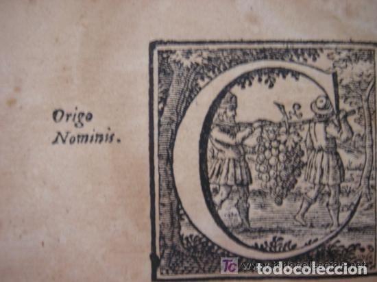 Arte: MAPA DE CASTILLA Y ALREDEDOR. ORIGINAL, JOHANNES JANSSONIUS, 1638 [ S.17 ] SIN EL MARCO - Foto 33 - 119922711