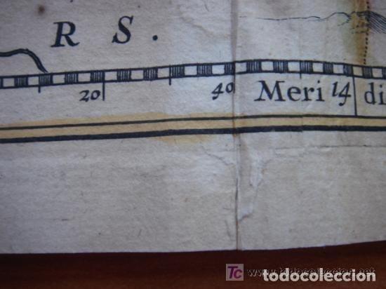 Arte: MAPA DE CASTILLA Y ALREDEDOR. ORIGINAL, JOHANNES JANSSONIUS, 1638 [ S.17 ] SIN EL MARCO - Foto 37 - 119922711