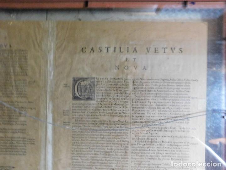 Arte: MAPA DE CASTILLA Y ALREDEDOR. ORIGINAL, JOHANNES JANSSONIUS, 1638 [ S.17 ] SIN EL MARCO - Foto 38 - 119922711
