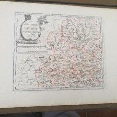 Arte: DES KÖNIGREICHS NAVARRA NORDWESTLICHER THEIL. VIENA,1789. FRANZ VON REILLY. PAMPLONA, ELIZONDO.. Lote 120129883