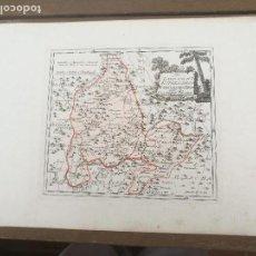 Arte: DER LANDSCHAFT ESTREMADURA NORDÖSTLICHER THEIL . EXTREMADURA, TRUJILLO. VIENA,1789. FRANZ VON REILLY. Lote 120134339