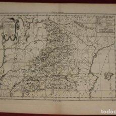 Arte: ANTIGUO MAPA DE CASTILLA Y VALENCIA (ESPAÑA), 1787. PRETOT. Lote 120190787