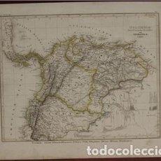 Arte: MAPA DEL NORTE DE SUDÁMERICA, 1849. RENNER/MEYER. Lote 120405687