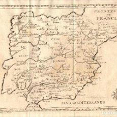 Arte: MAPA DE HISPANIA ANTIGUA (S. XVIII). Lote 120485251