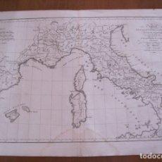 Arte: MAPA DE LA EXPEDICIÓN DE ANIBAL ( ESPAÑA, FRANCIA E ITALIA ),1770. ANVILLE/ROLLIN. Lote 121157791