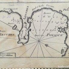 Arte: MAPA ALCUDIA, POLLENÇA - ISLAS BALEARES - AÑO 1764. Lote 174247839
