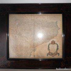 Arte: ANTIGUO MAPA ESTADOS DE LA CORONA DE ARAGON - AÑO 1752 - GRAN FORMATO.. Lote 122604899