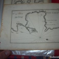 Arte: MAPA ANTIGUO S. XVIII EN PAPEL VERJURADO DE PORT DE L'ERO. DANS L'ARCHI. 17,5 CM X 23,5 CM . . Lote 122627915