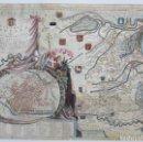 Arte: TERRITORIO DI RAVENNA, PARTE MERIDIONALE QUELL'ARCIVESCOVATO, VINCENZO M.CORONELLI, S.XVII.62,5X46CM. Lote 120485767