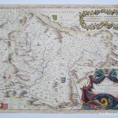 Arte: MAPA DE LA TRANSILVANIA, DESCRITO POR VINCENZO MARIA CORONELLI, S. XVII. 62X46,5CM. Lote 120488583
