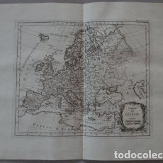 Arte: MAPA DE EUROPA, 1764. N. BELLIN. Lote 123344279
