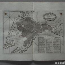 Arte: MAPA DE LA CIUDAD DE CÁDIZ (ESPAÑA), 1764. NICOLAS BELLIN. Lote 135954399
