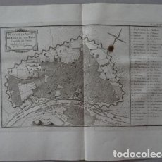 Arte: MAPA-PLANO DE LA CIUDAD DE LIMA (PERÚ, AMÉRICA DEL SUR), 1764. BELLIN. Lote 123353259