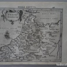 Arte: MAPA DE FEZ (MARRUECOS, ÁFRICA), 1610. MERCATOR/HONDIUS. Lote 124045607