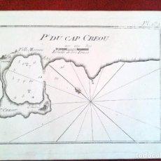 Arte: PORT DU CAP DE CREOU. CAP DE CREUS. JOSEPH ROUX. Lote 124145675