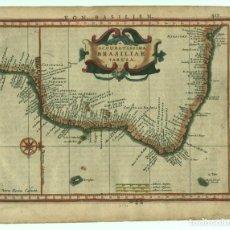 Arte: MAPA DE BRASIL (AMÉRICA DEL SUR), 1640. G. MERCATOR. Lote 124276203