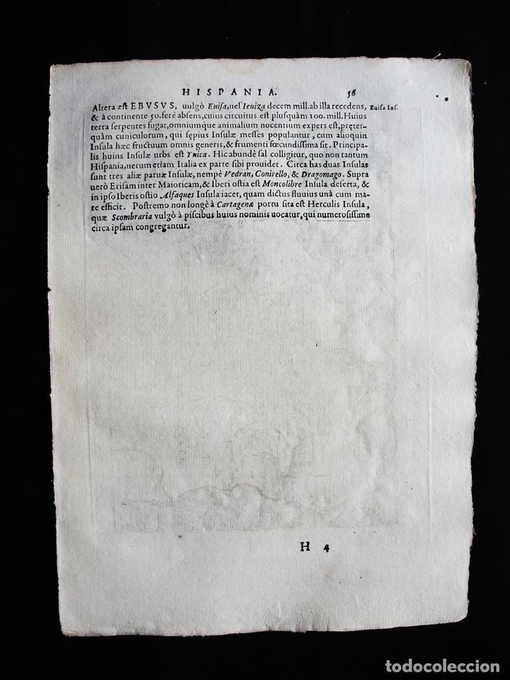 Arte: Mapa del Reino de Portugal, 1596. Ptolomeo/Magini/Karera/Porro - Foto 6 - 124531419