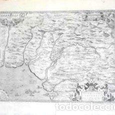 Arte: MAPA ANTIGUO ANDALUCÍA ORTELIUS CON CERTIFICADO AUTENTICIDAD. MAPAS ANTIGUOS ANDALUCÍA. Lote 126100023