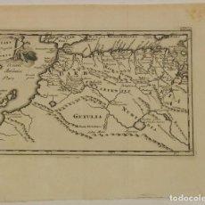 Arte: MAPA DEL NORTE DE ÁFRICA Y LAS ISLAS CANARIAS (ESPAÑA), 1697. P. CLUVER. Lote 126292591