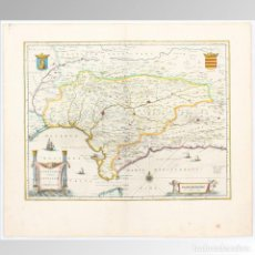 Arte: MAPA DE ANDALUCÍA (1640). Lote 126832174