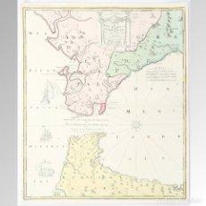 Arte: CARTE NOUVELLE DE L'ISLE DE CADIX - HOMANN. Lote 126832170