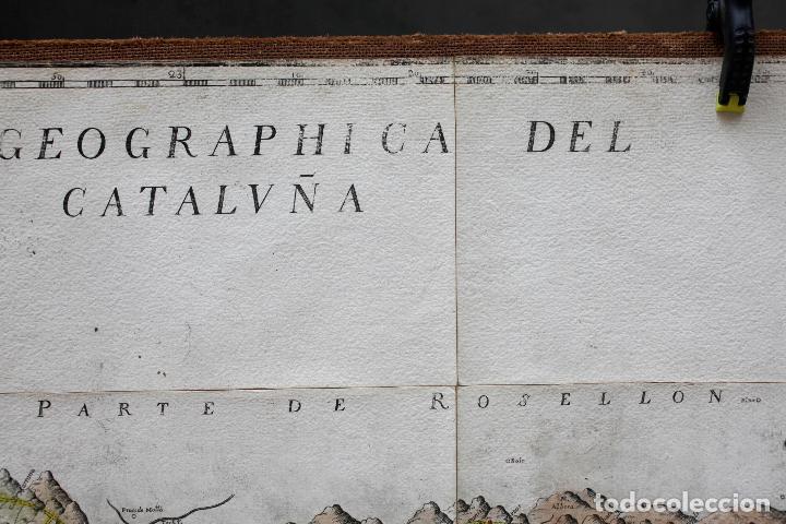 Arte: NUEVA DESCRIPCIÓN GEOGRAPHICA DE CATALUÑA , JOSEP APARICI, 1769. EDICIÓN DE 1720. COLOREADO. - Foto 3 - 128231423