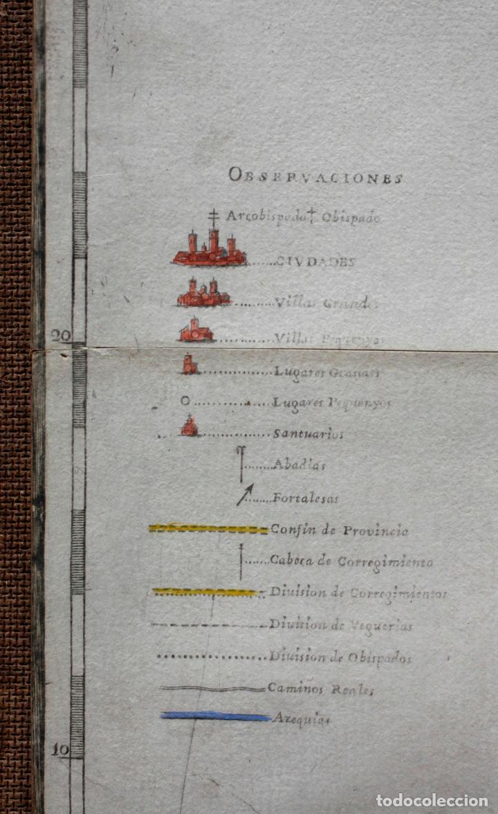 Arte: NUEVA DESCRIPCIÓN GEOGRAPHICA DE CATALUÑA , JOSEP APARICI, 1769. EDICIÓN DE 1720. COLOREADO. - Foto 5 - 128231423