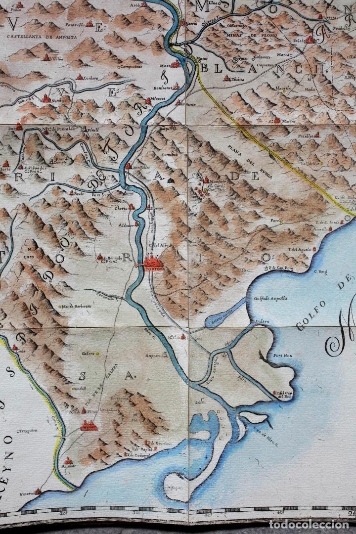 Arte: NUEVA DESCRIPCIÓN GEOGRAPHICA DE CATALUÑA , JOSEP APARICI, 1769. EDICIÓN DE 1720. COLOREADO. - Foto 6 - 128231423