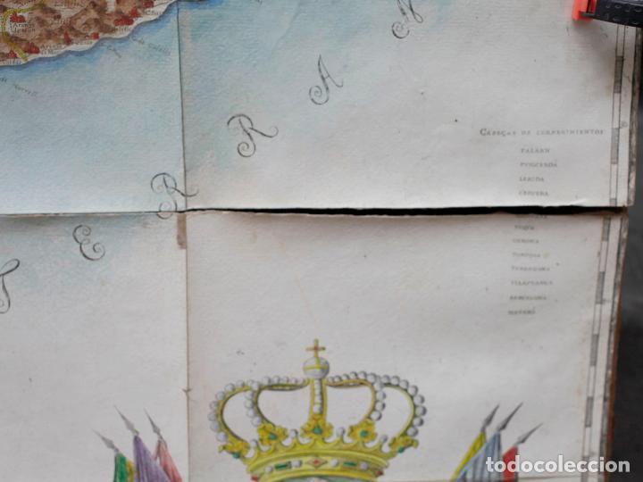 Arte: NUEVA DESCRIPCIÓN GEOGRAPHICA DE CATALUÑA , JOSEP APARICI, 1769. EDICIÓN DE 1720. COLOREADO. - Foto 8 - 128231423