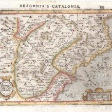 Arte: MAPA DE ARAGÓN Y CATALUÑA DEL SIGLO XVII. Lote 129170739