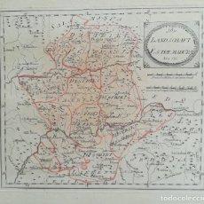 Arte: MAPA DE EXTREMADURA Nº 556 - REILLY - AÑO 1791 - ES ORIGINAL. Lote 130628326